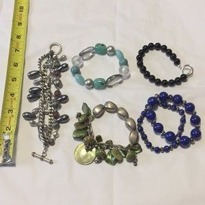 Lot of 6 unique bracelets 🥰